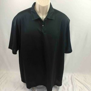 Nike Golf Dri-Fit Mens Polo Shirt Black XL